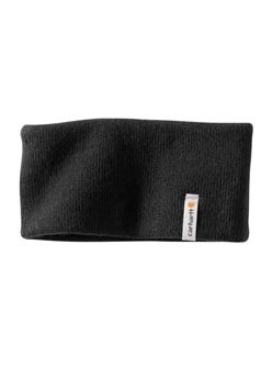 Carhartt Mens Northern Black Headband | Buy Now at camouflage.ca