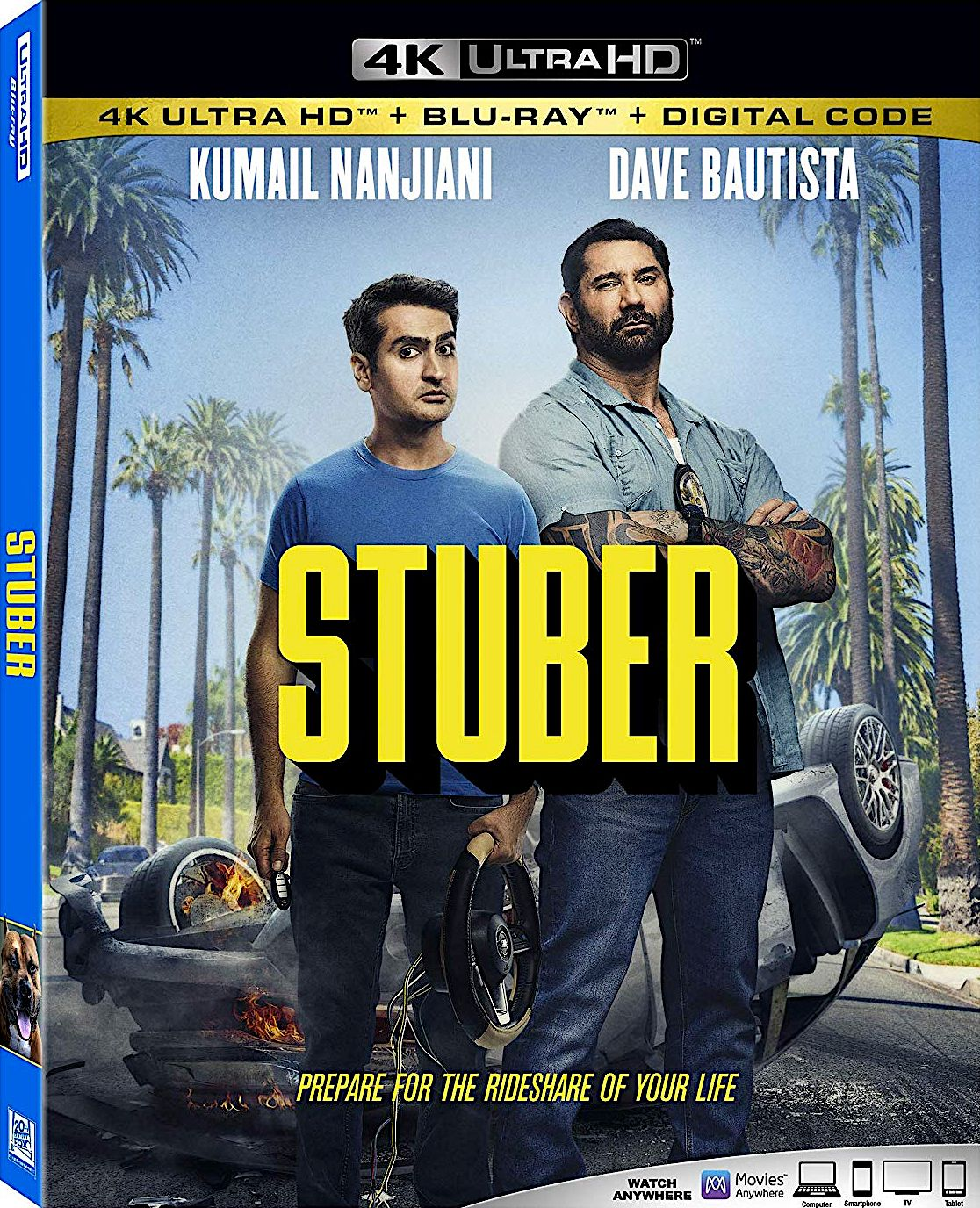 STUBER 4K BLURAY (20TH CENTURY FOX / DISNEY) (With images