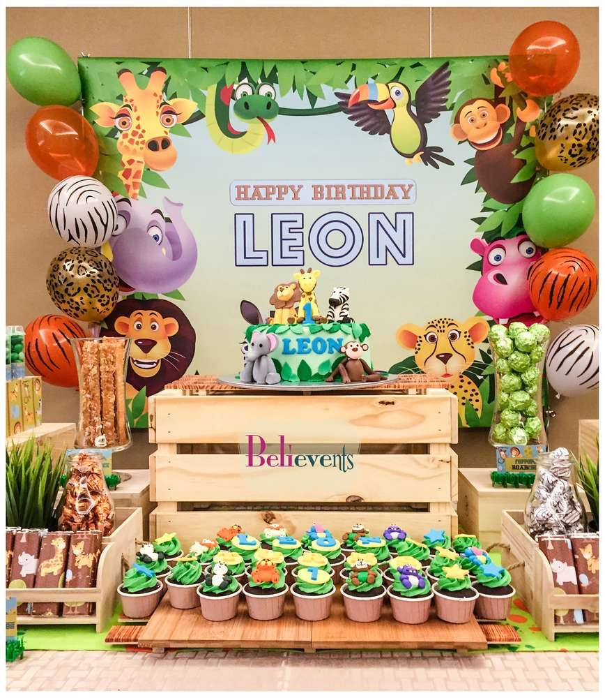 What A Fun Zoo Birthday Party See More Ideas At CatchMyParty
