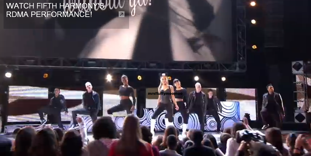"""Ariana Grande performing """"Problem"""" at the RDMA'S 2014"""