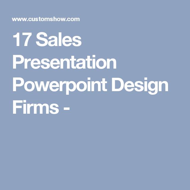Sales Presentation Powerpoint Design Firms   Marketing