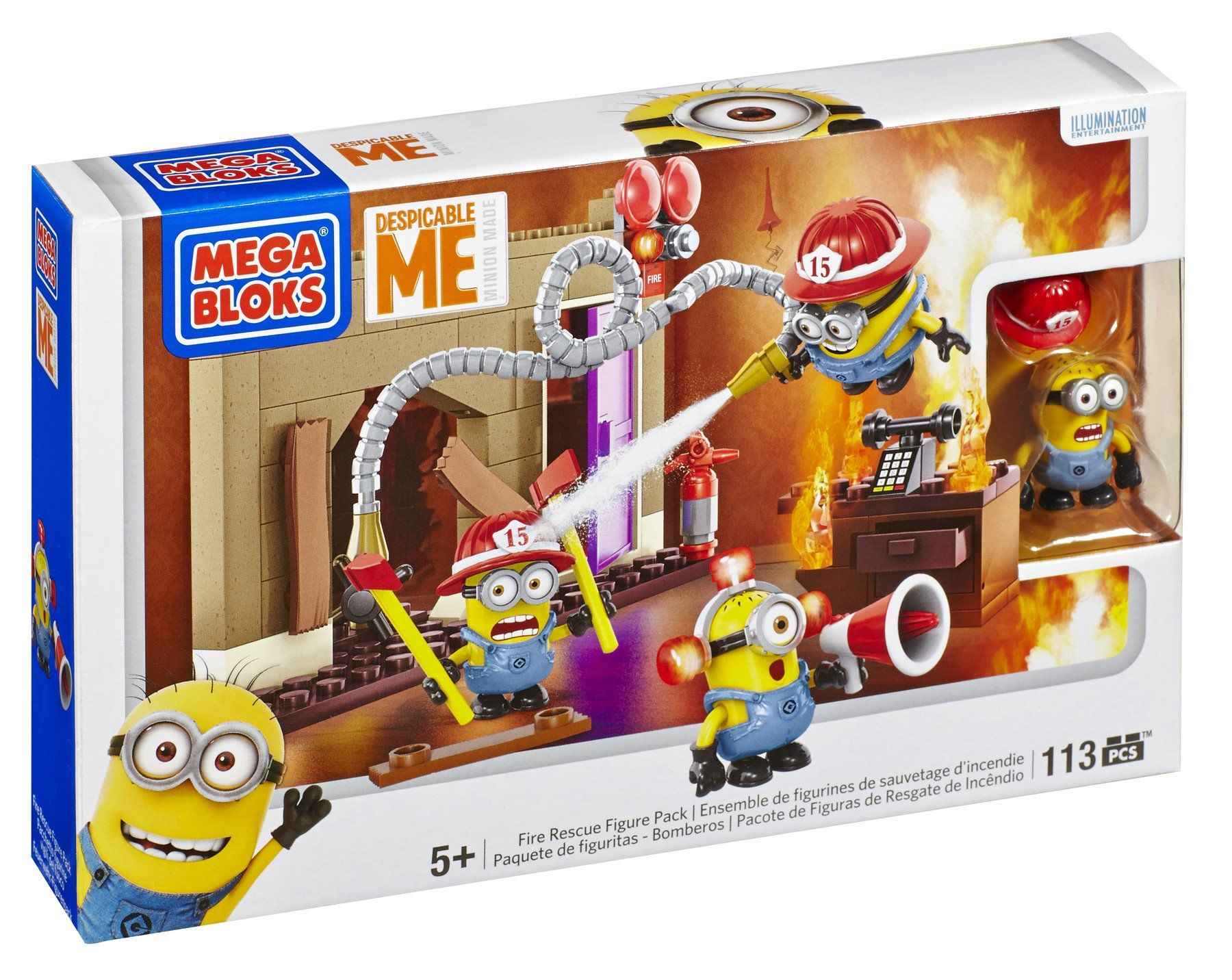 Amazon Mega Bloks Despicable Me Fire Rescue for Lego