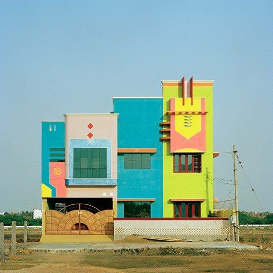 India's Toy Candy Houses that inspired by Ettore Sottass