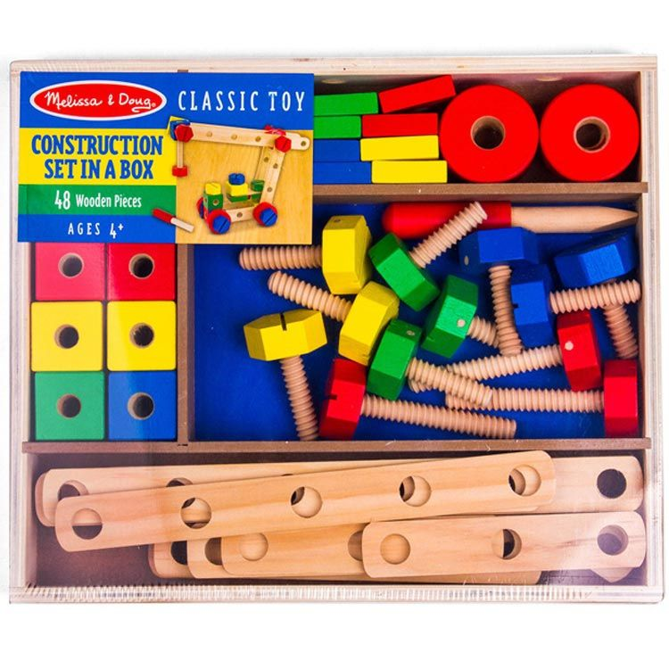 7313f9864 melissa and doug construction set in a box - Google Search ...