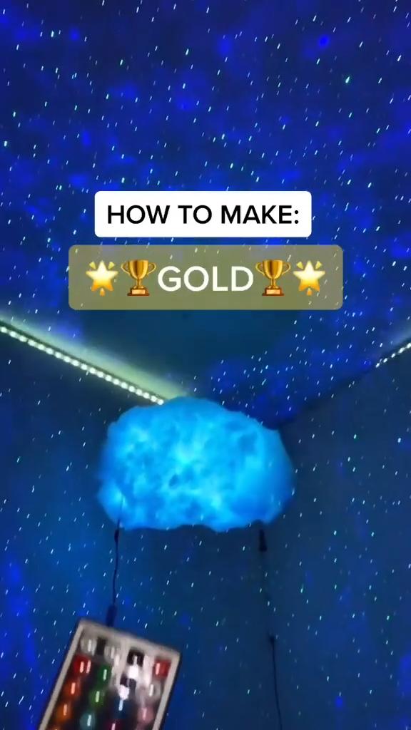 Simple DIY to get Gold Lighting