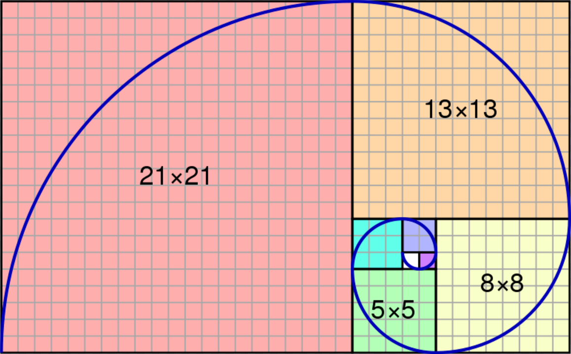 Image result for fibonacci pictures him | Golden ratio, Fibonacci number,  Fibonacci