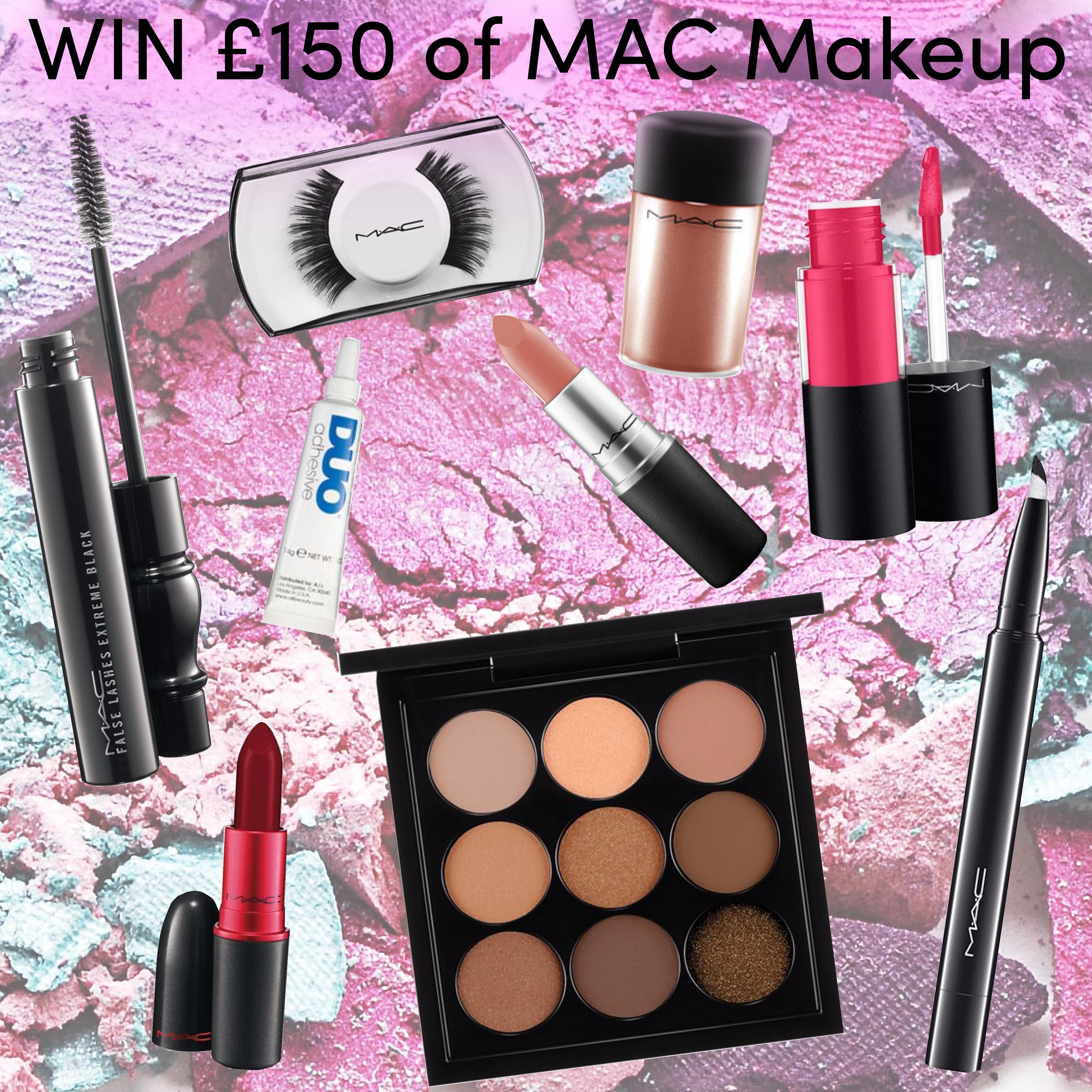WIN MAC Cosmetics makeup worth £150 exclusively at Ooh La