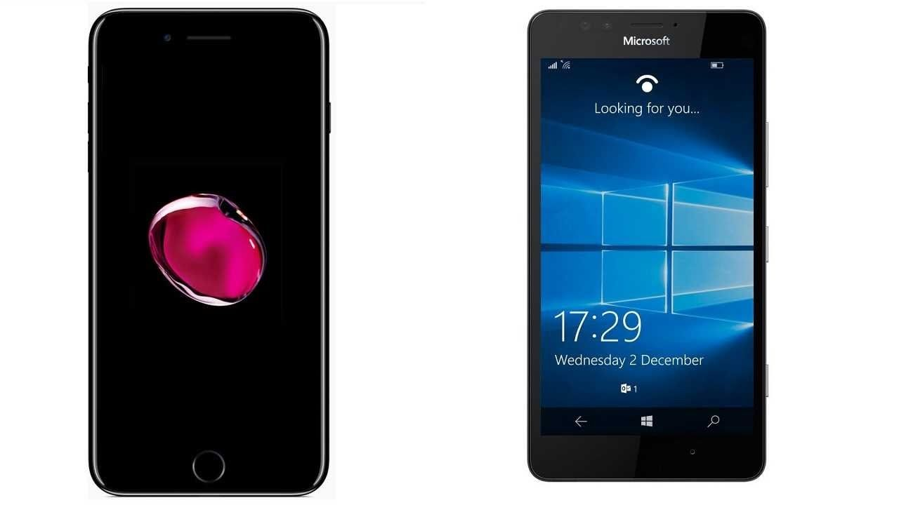 Apple iPhone 7 Plus vs Microsoft Lumia 950 Subscribe! http