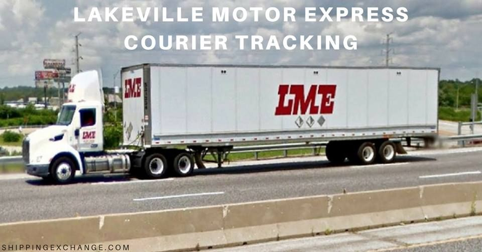 Lakeville Motor Express Tracking Track And Trace Courier Parcels Shipment