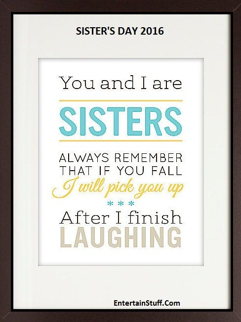 Happy Sisters Day 2016 Best HD Wallpapers Quotes And Wishes