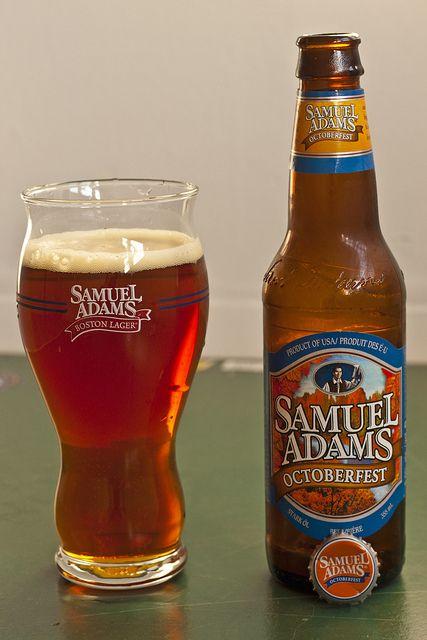 Review Sam Adams Octoberfest Pumpkin Beer Craft Beer Beer