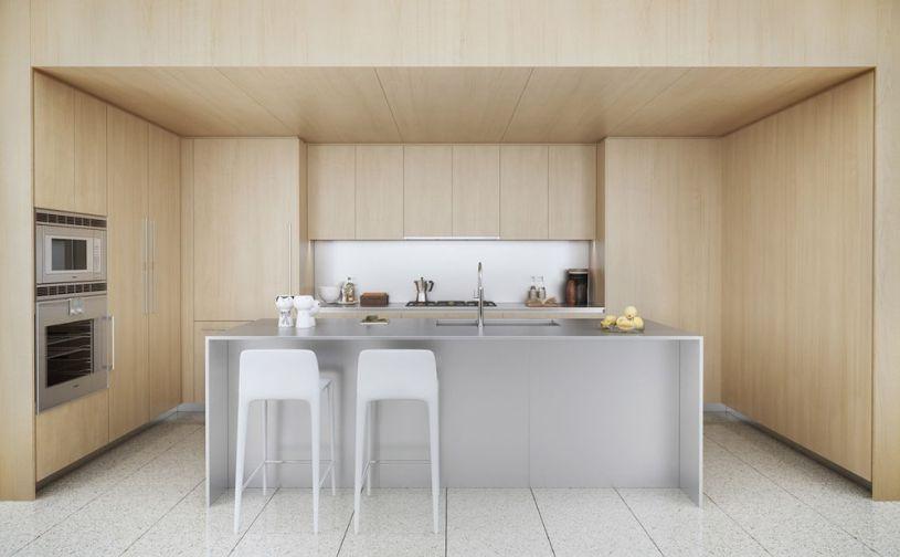 Desain dapur minimalis kayu also minimalist rh pinterest