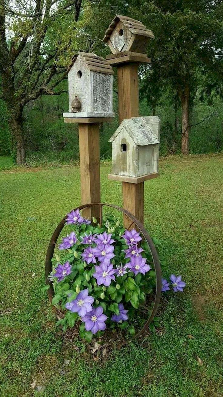 80 Awesome Spring Garden Ideen für Vorgarten und Hinterhof #awesome #garden #ga... - My Blog - Melissa Blog