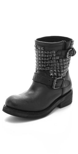 Titan Engineer Boots with Studs