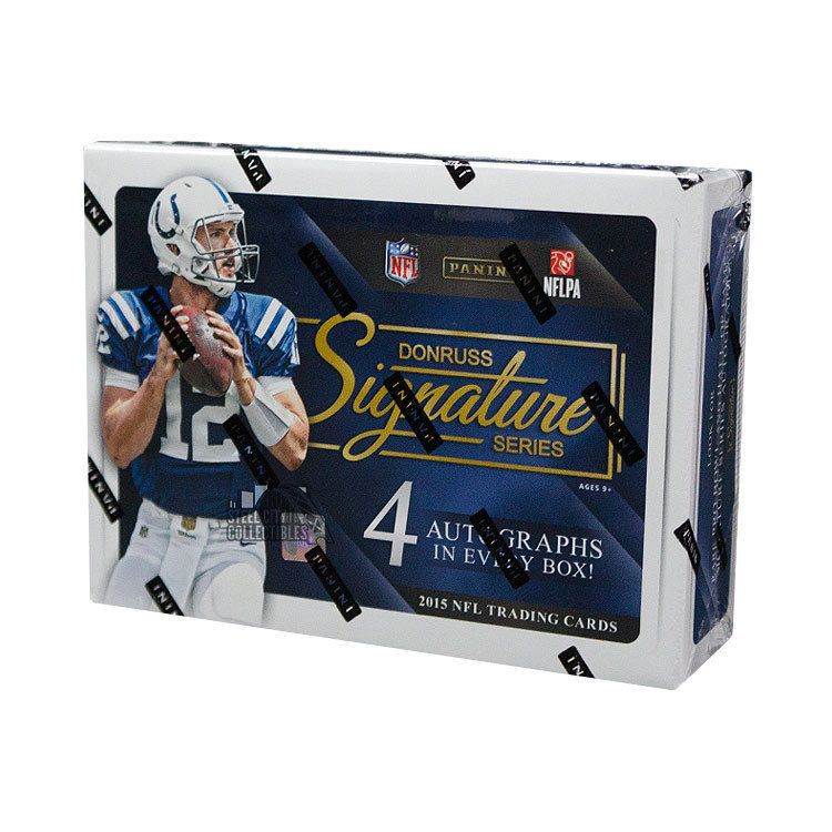2015 panini donruss signature series football hobby box
