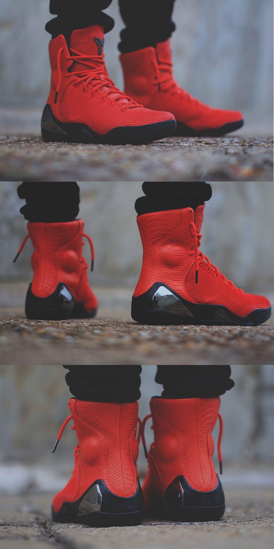 "Nike Kobe 9 ""Challenge Red"" (Challenge Red / Black)"