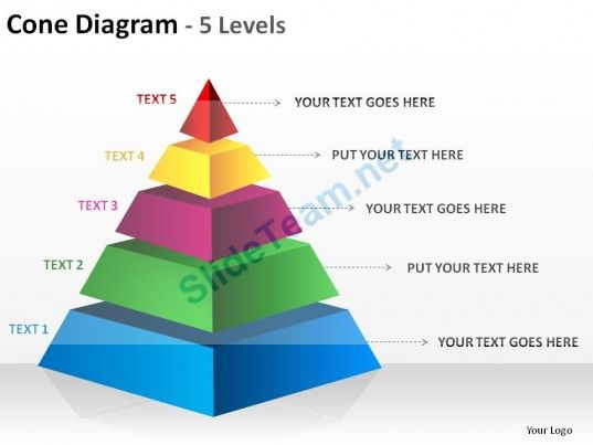 pyramid template ppt