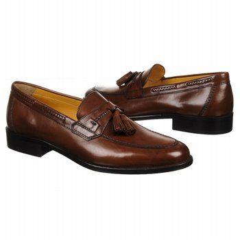 Johnston and Murphy Vauter Tassel Shoes (Saddle Tan) - Men's Shoes - 12.0 W