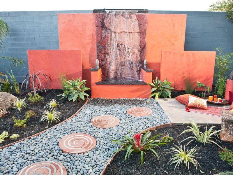 Brunnen Und Wasserspiele Im Garten Selber Bauen U2013 70 Bilder Und Ideen  #bauen #bilder