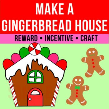 Photo of Make A Gingerbread House | VIPKid Reward | Class Incentive | Centers | Craft
