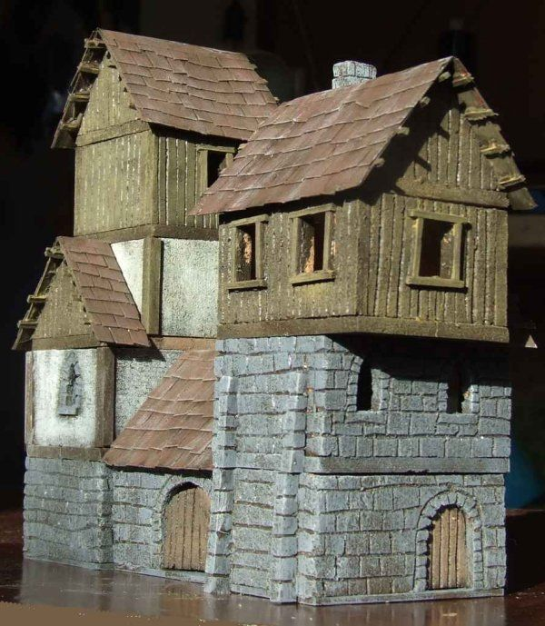 casa de corcho | MODELISMO/DIORAMAS | Pinterest | Corchos, Casa ...