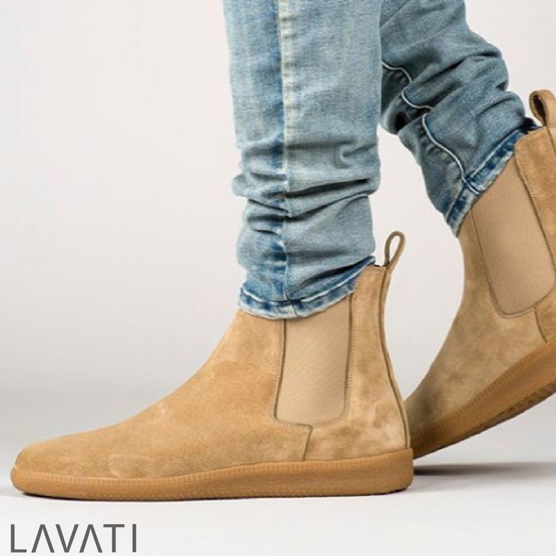 Restock of our Seline chelsea boot sneakers in size 42 available now  online. #LAVATI