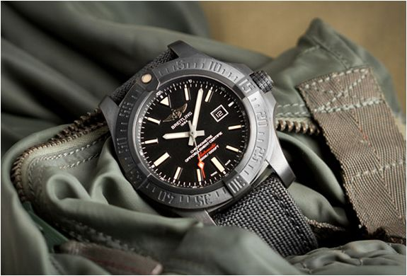 Breitling Unveils the Impressive New Avenger Blackbird Wristwatch