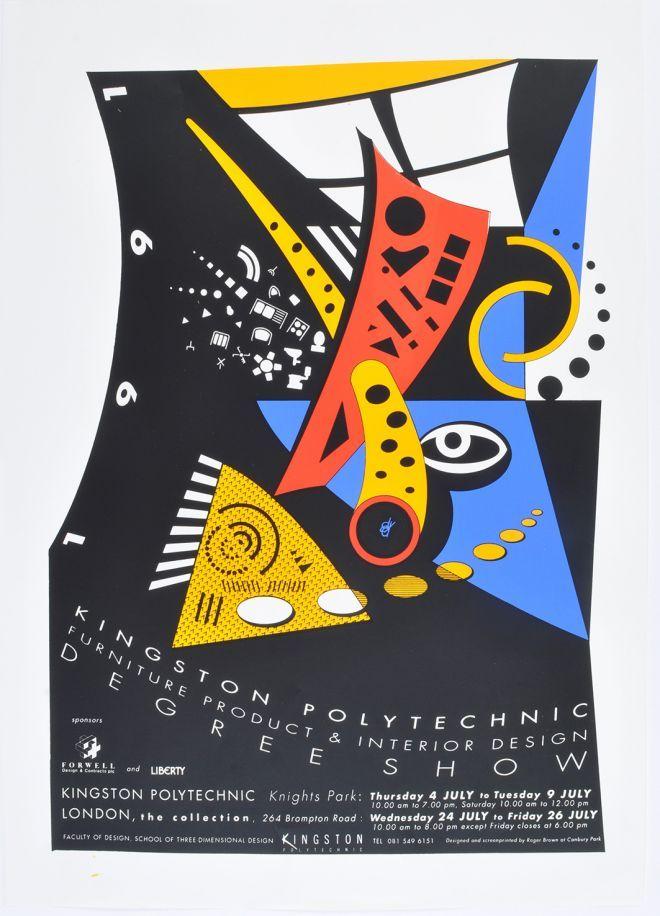 Image result for london degree show poster | School design ...