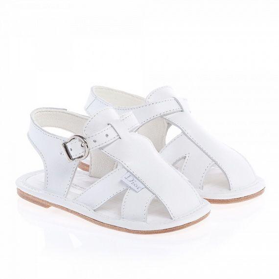 Sandali bianchi per bambini Burberry ln6ZUhe