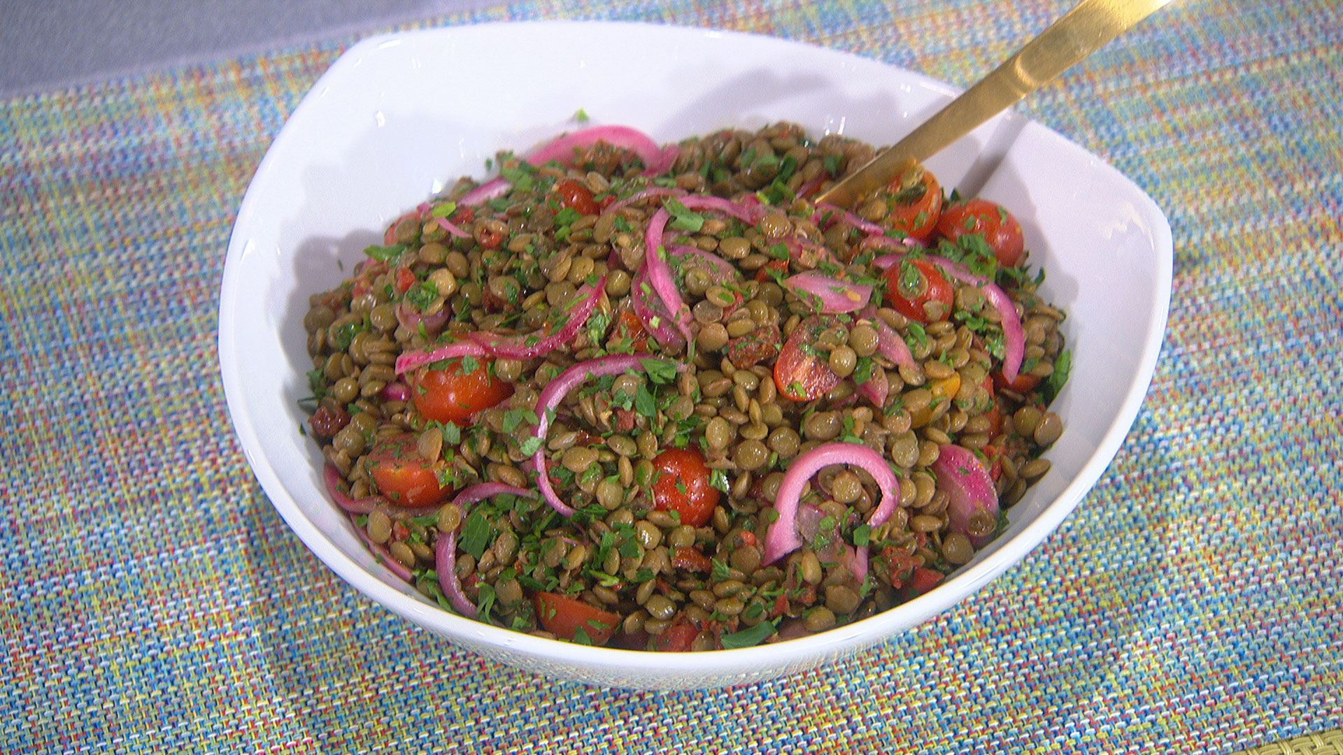 Marisa Churchill Recipes - The Talk - CBS.com -- Liv liked the looks of the Mediterranean Lentil Salad...