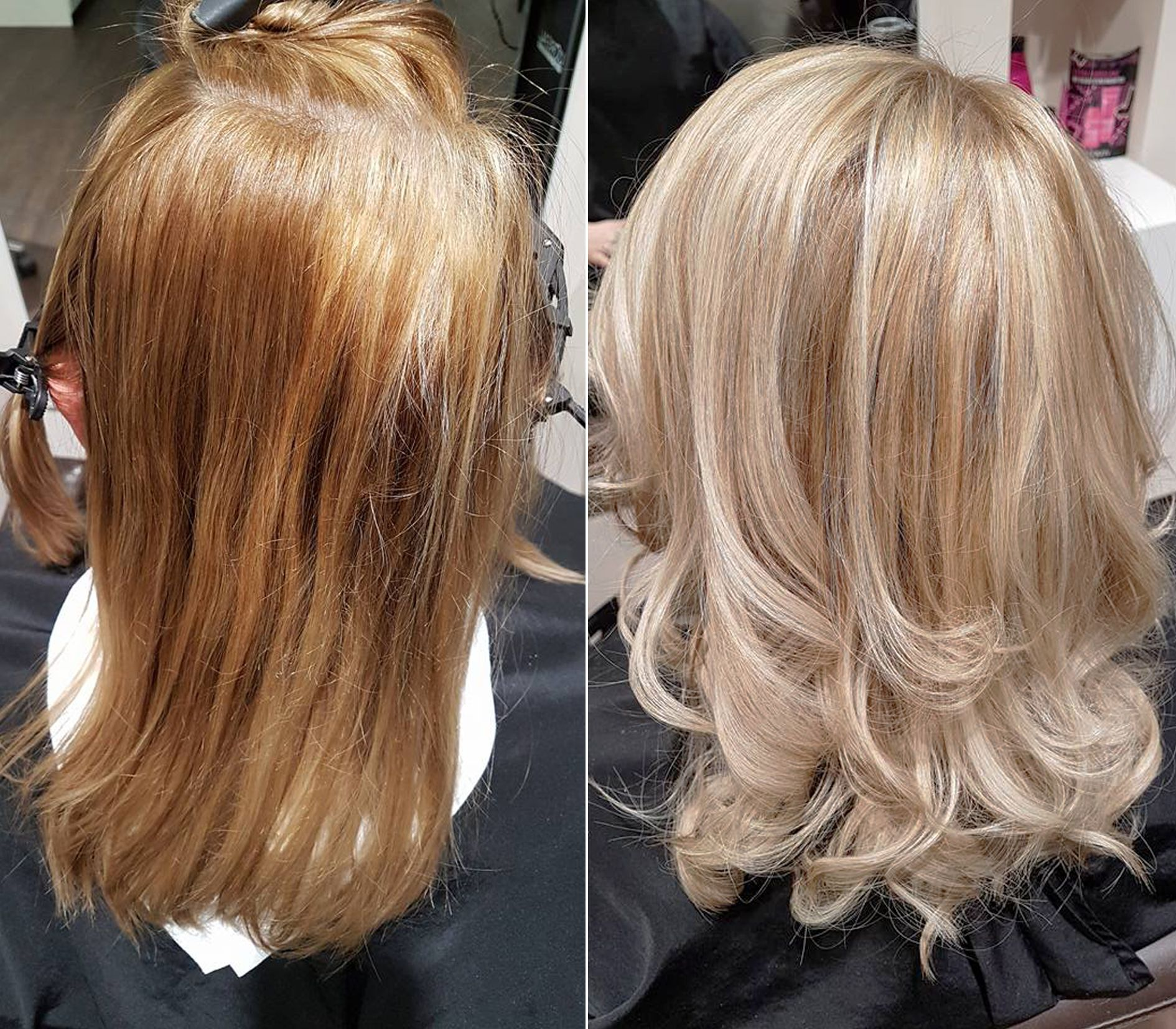 Frisuren Vorher Nachher Blond Experte Friseur D Machts Lounge