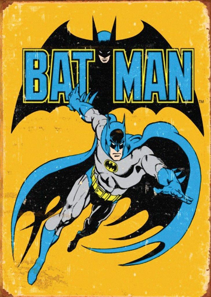 Vintage Batman Print A3 Poster 520