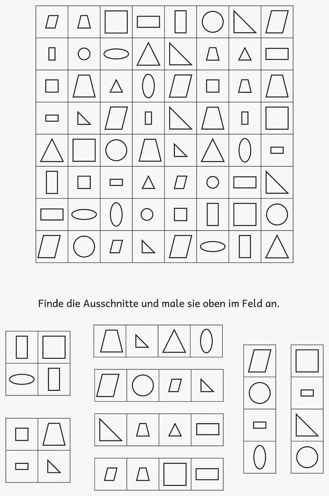 lernst bchen visuelle wahrnehmung figura fondo pinterest kindergarten busy bags and phonics. Black Bedroom Furniture Sets. Home Design Ideas