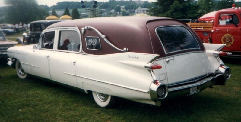Cadillac Eureka Hearse...