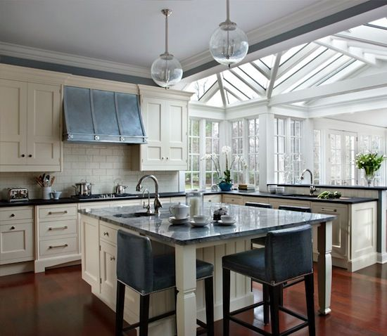Large Square Kitchen Island we're loving the top on this large, square kitchen island