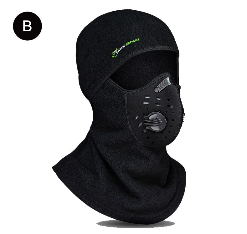 439ef7ade4b9 Black Balaclava Breathable Outdoor Sports Riding Ski Mask Tactical Hunting  Cover Motorcycle Cycling Protect Full Face