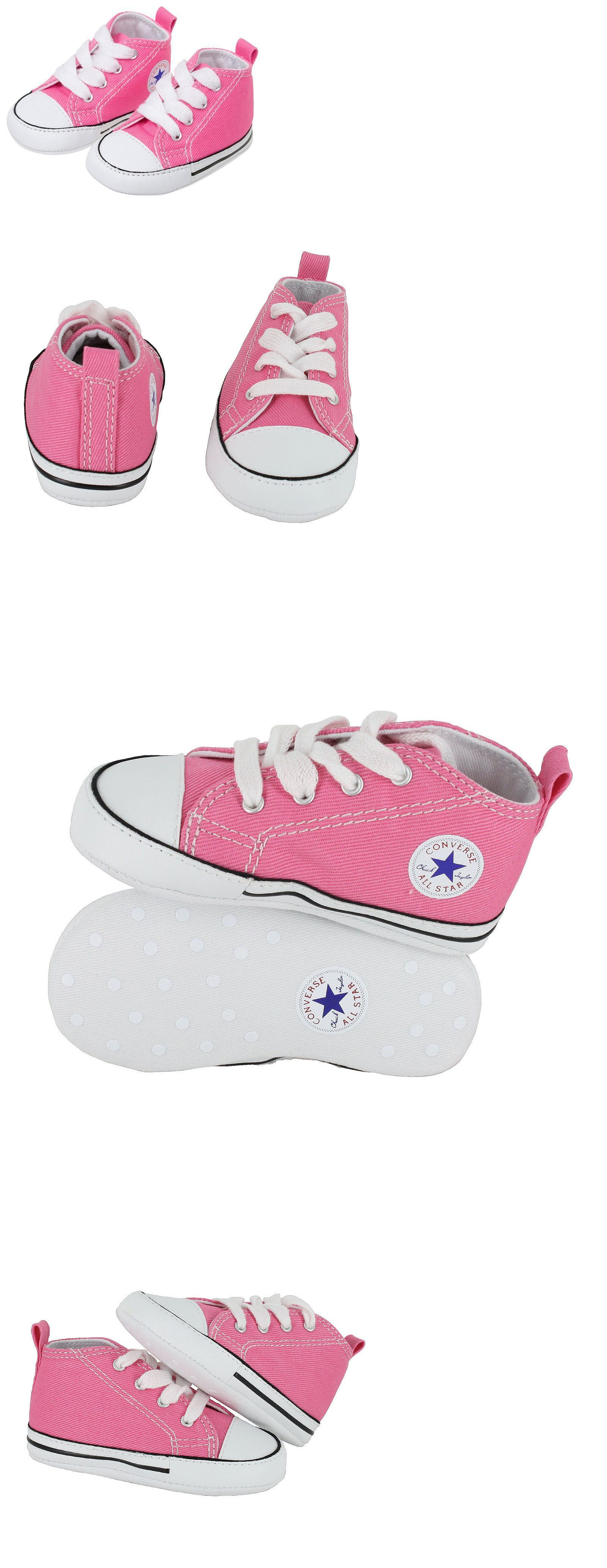 39218d979d25 Baby Shoes 147285  Converse Newborn Crib Booties Pink 88871 First All Star  Baby Shoes Sz 1-4 -  BUY IT NOW ONLY   23.45 on  eBay  shoes  converse   newborn ...