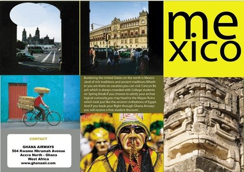 travel brochure examples mexico travel brochure – Travel Brochure