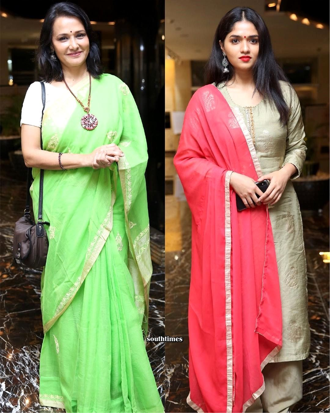 Amala and Sunainaa at Zee5 original series launch  The two