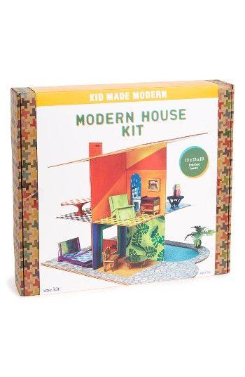 Kid Made Modern Modern House Kit Nordstrom Kit Homes Modern House Crafty Kits