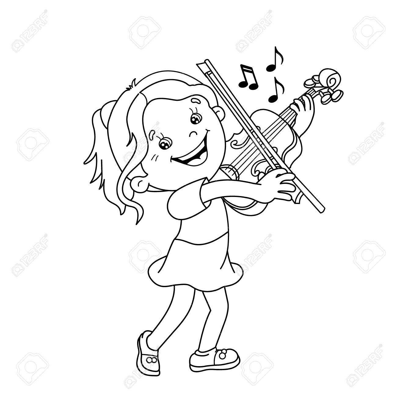 Resultado De Imagen De Dibujos De Violines Para Niños Violín