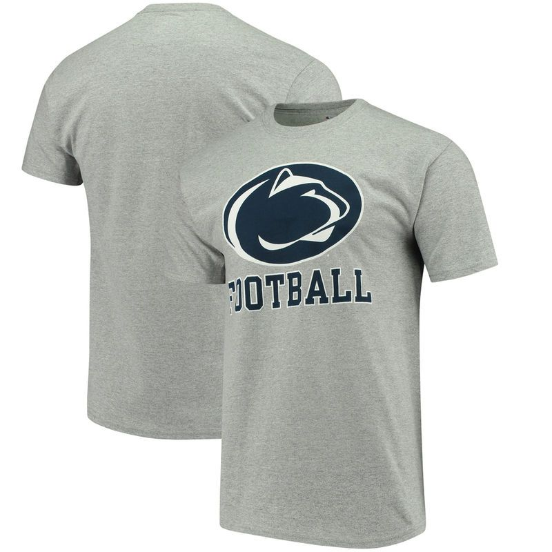 f983f62b Penn State Nittany Lions Champion Football Drop T-Shirt - Gray in ...