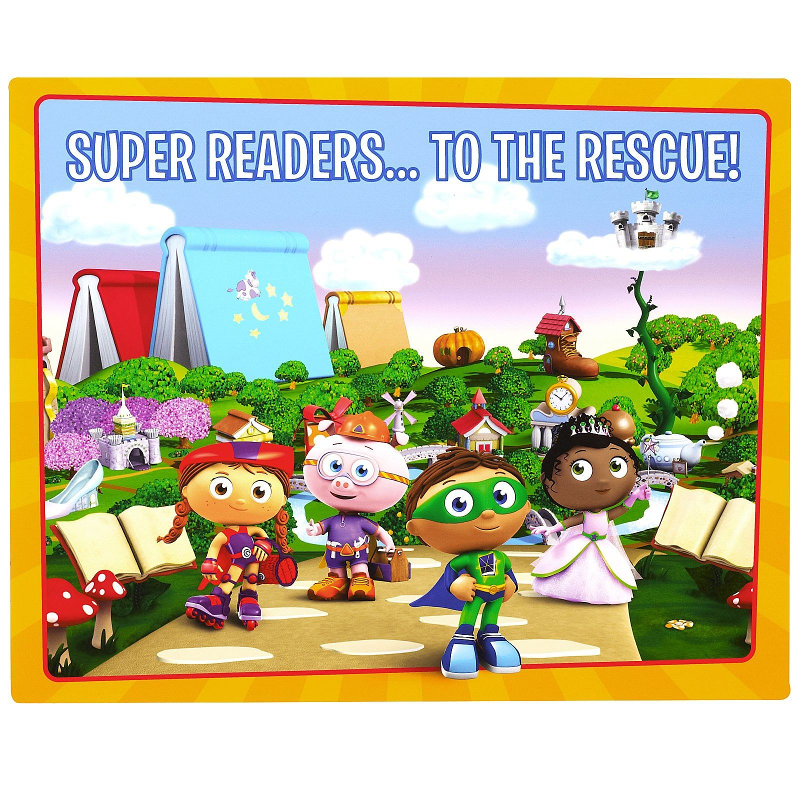 Super Why! Activity Placemat 4 count from PBS Kids Shop