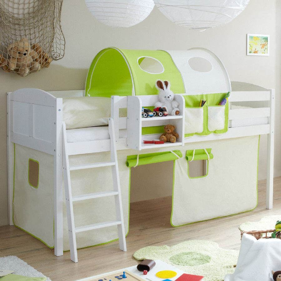 die besten 25 hochbett weiss ideen auf pinterest ikea hochbett in weiss ikea kinderzimmer. Black Bedroom Furniture Sets. Home Design Ideas