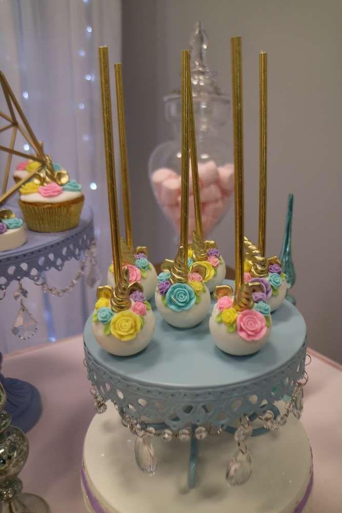 Unicorn Birthday Party Ideas Dulces De Mesa Pinterest Unicorn