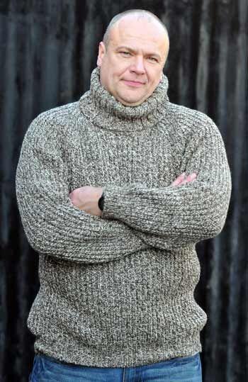 Irish Wool Sweaters Men Irish Knitwear Warm Jumpers Handmade