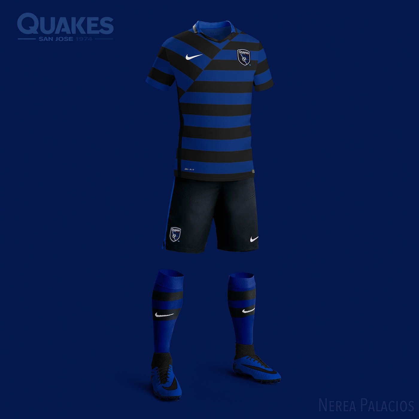 new concept cdc4b ba613 Nike MLS Concept Kits by Nerea Palacios | San Jose ...