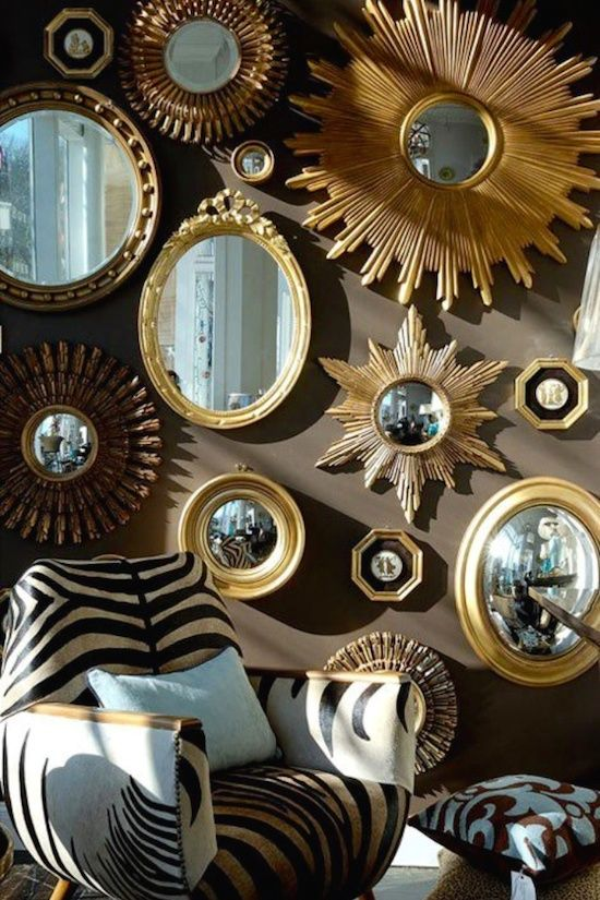 Convex Mirror | Mirror collage, Gallery wall and Wall decor