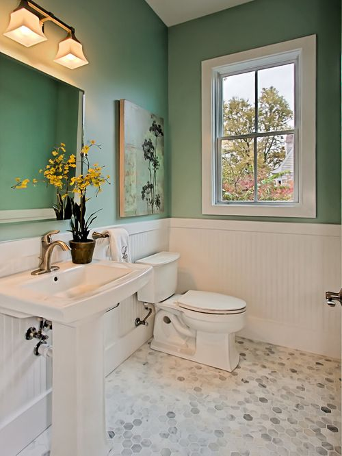 Benjamin Moore Hc 129 Southfield Green Best Bathroom
