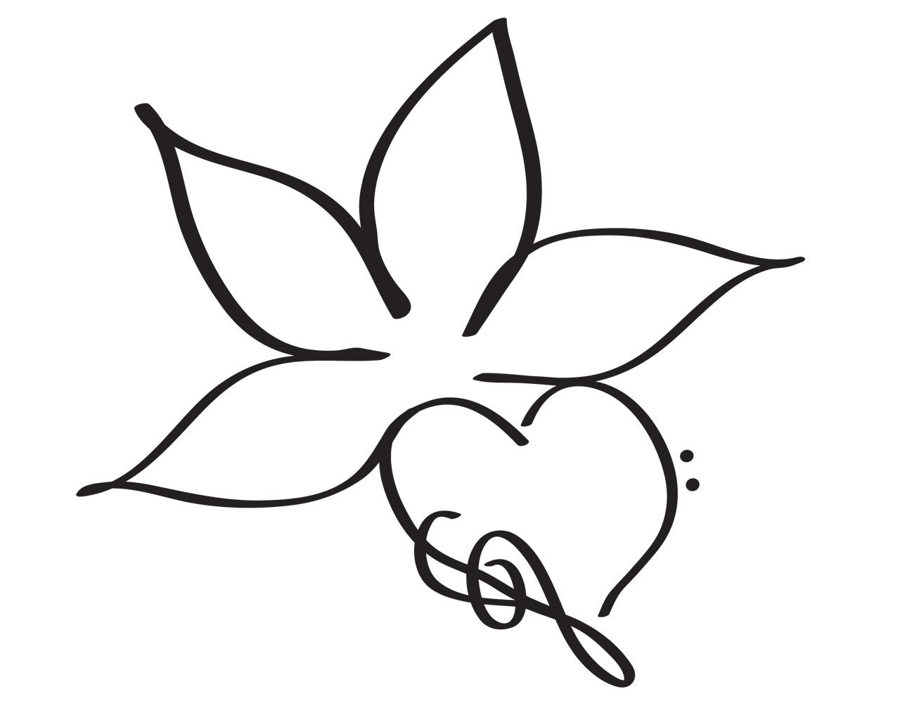Simple Flower Drawings Simple Flower Tattoo Simple Tattoo Designs Easy Tattoos To Draw